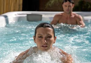 American Whirlpool Swim Spas Wet Test A American