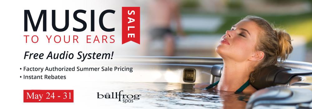 Memorial Day Audio Sale Bullfrog