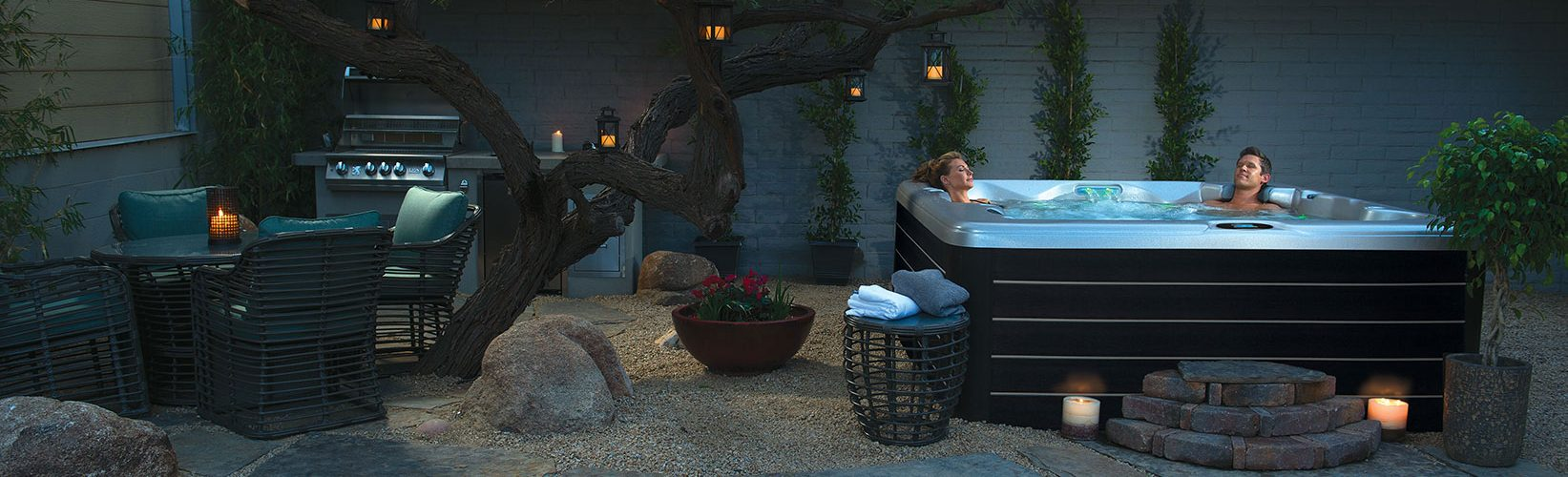 Backyard Spa Retreat